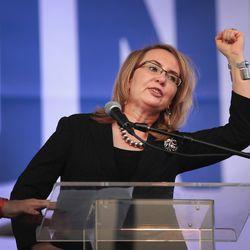 Former Rep. Gabrielle Giffords | Scott Olson/Getty Images