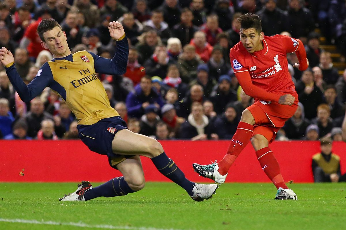 Watch Roberto Firmino vs Arsenal The Liverpool fside