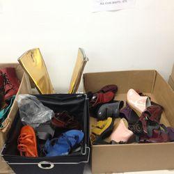 Bargain bins: Clogs $50, boots $75