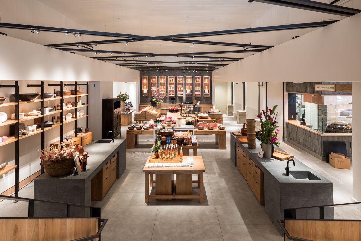 China Live's retail market
