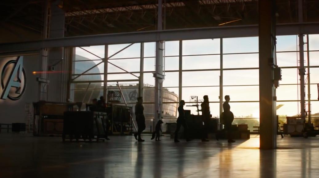 avengers endgame trailer living characters on earth