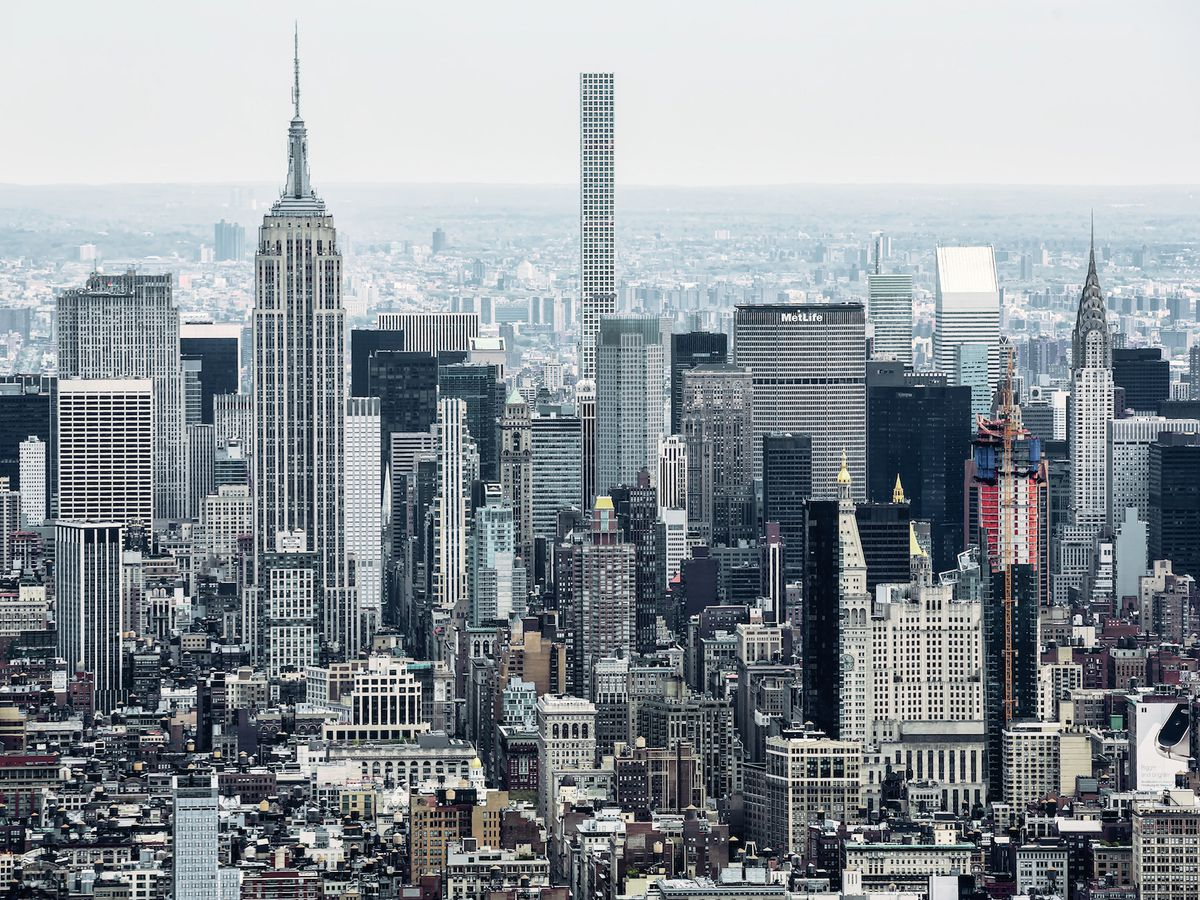Nyc S Supertall Skyscraper Boom Mapped Curbed Ny