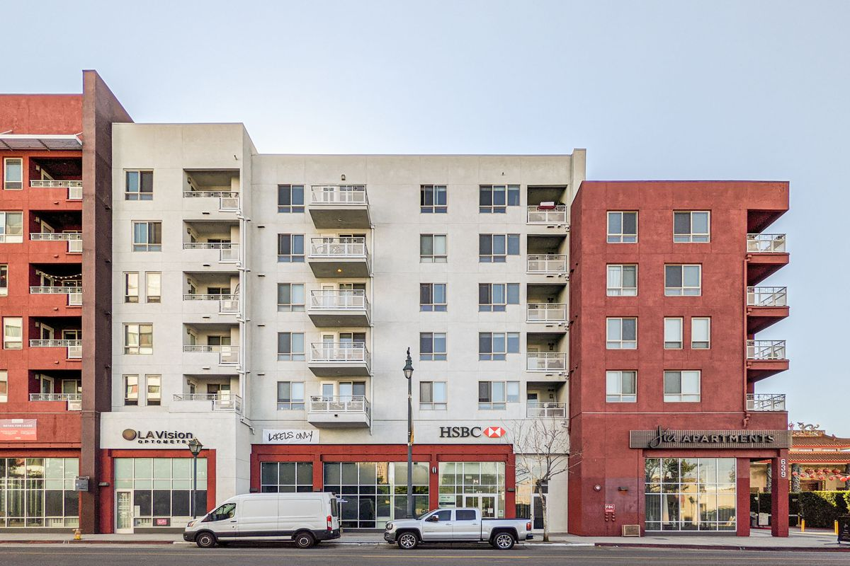 Jia Apartments includes 280 market-rate residences but no apartments reserved for low-income residents.