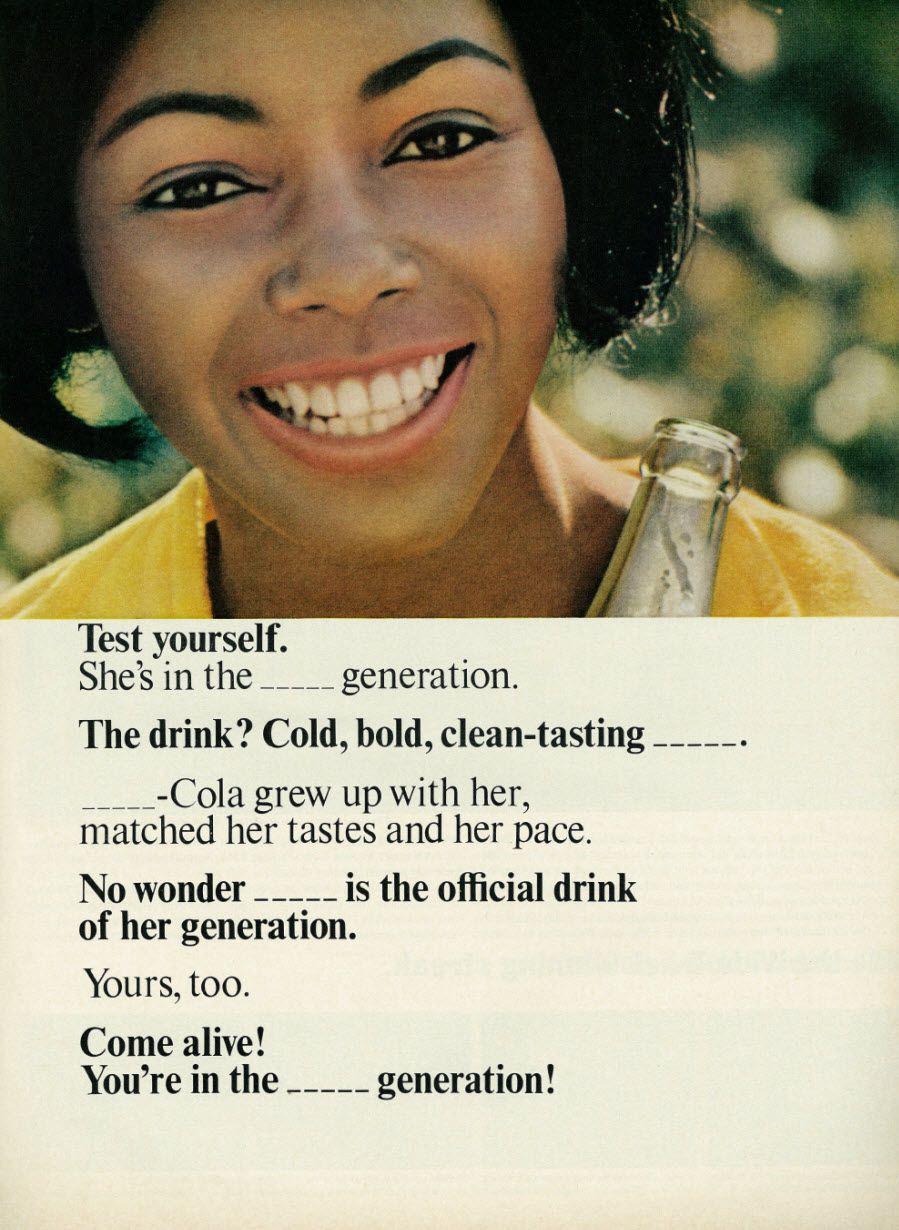 A 1966 Pepsi ad.