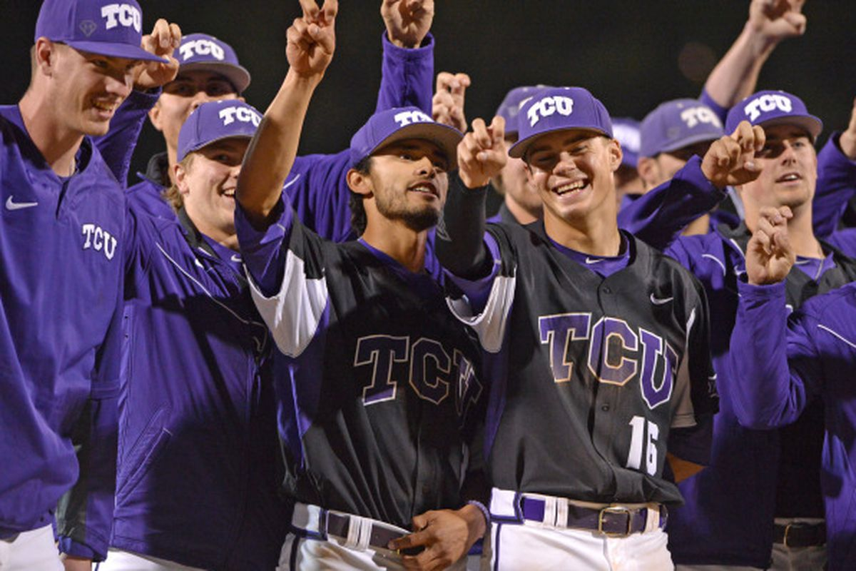 The Frogs win another one in their fresh mid-week jerseys