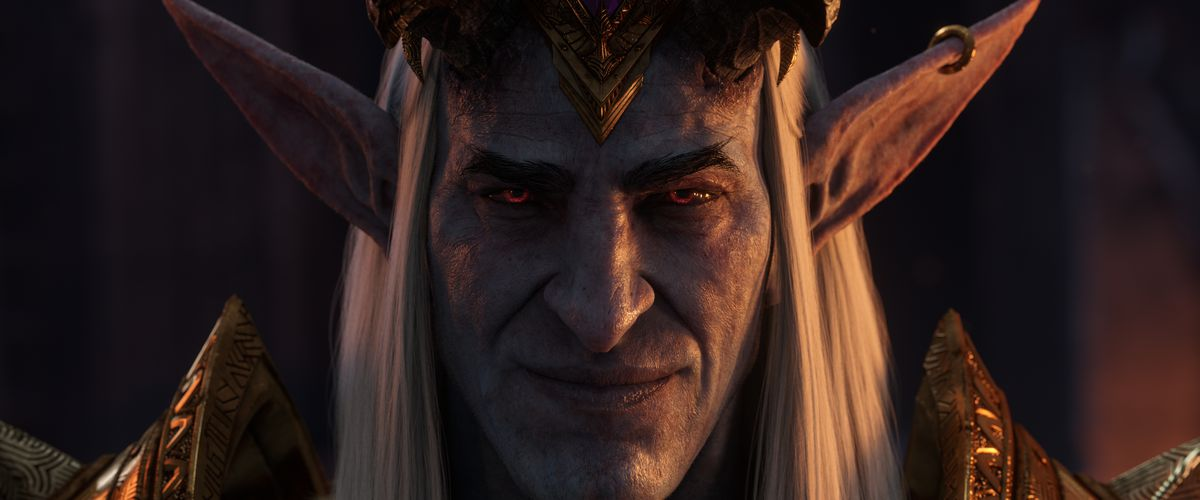 World of Warcraft: Shadowlands - Sire Denathrius from the Shadowlands launch cinematic