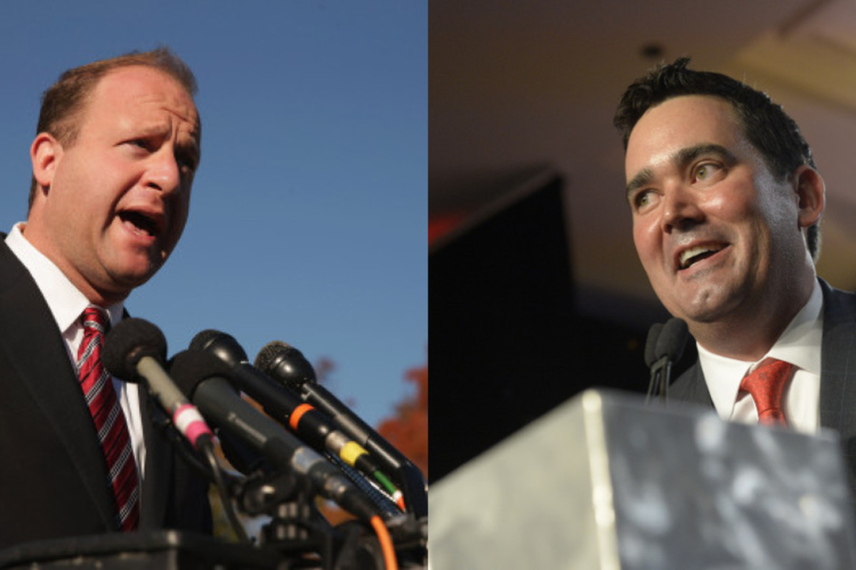 Democrat Jared Polis and Republican Walker Stapleton are competing to be Colorado's next governor.