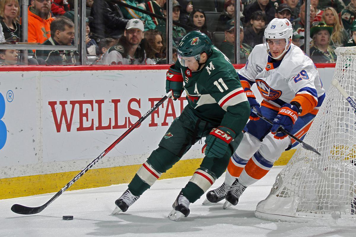 New York Islanders v Minnesota Wild