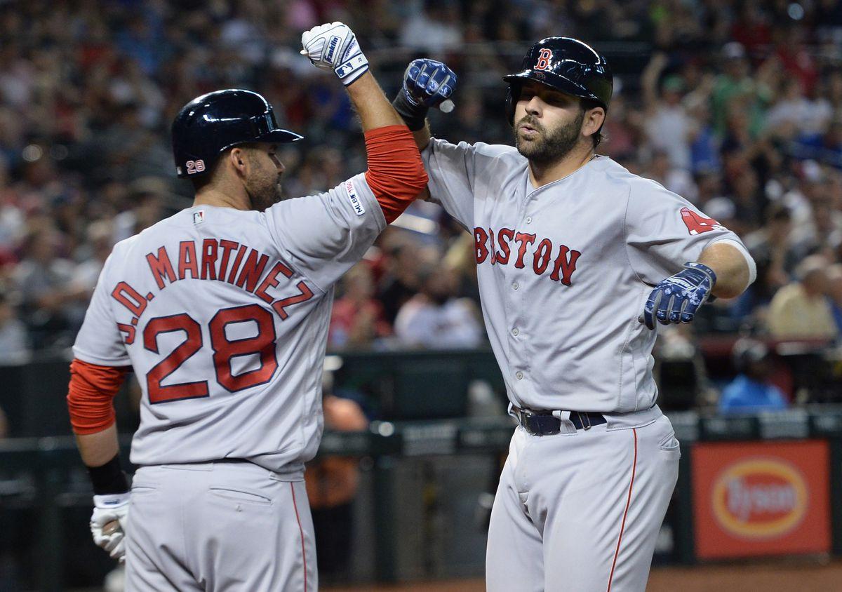MLB: Boston Red Sox at Arizona Diamondbacks