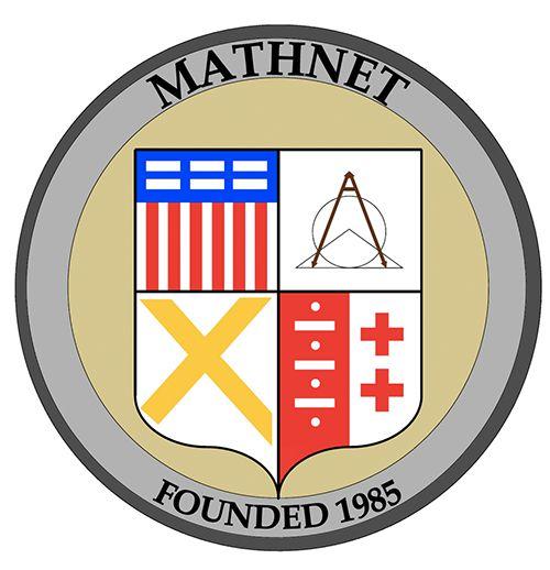 A recreation of the Mathnet logo