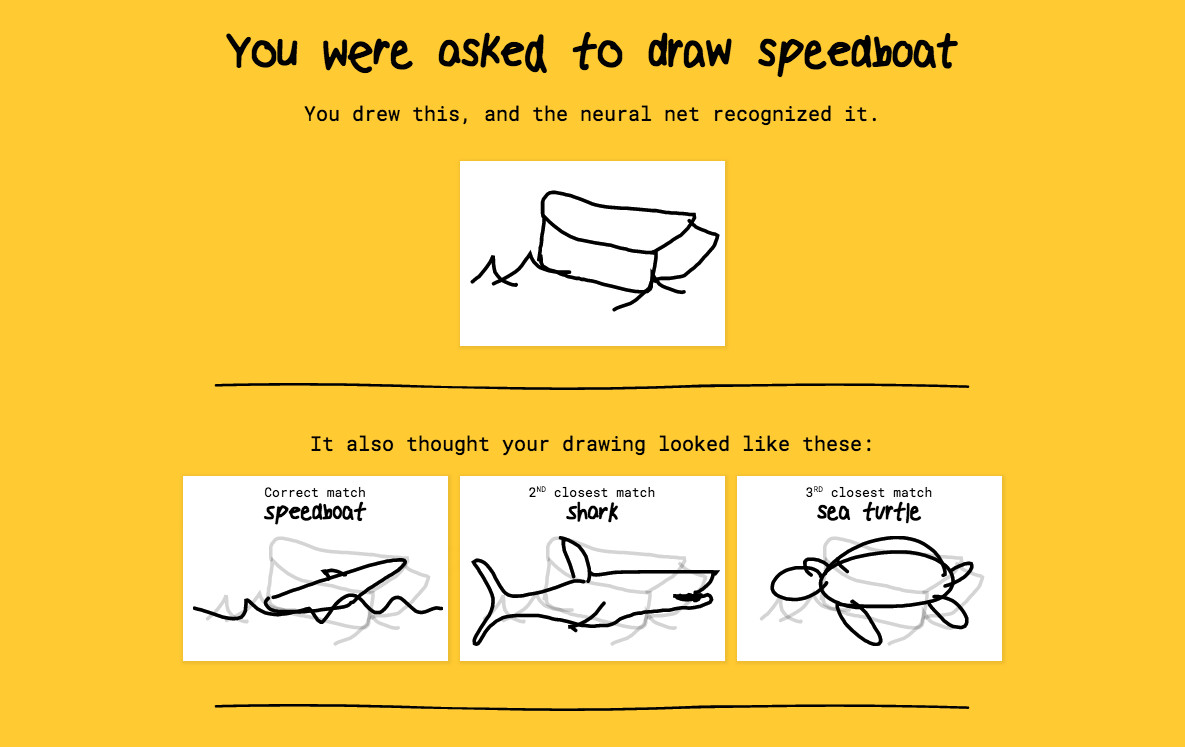 This Google-powered AI can identify your terrible doodles - The Verge