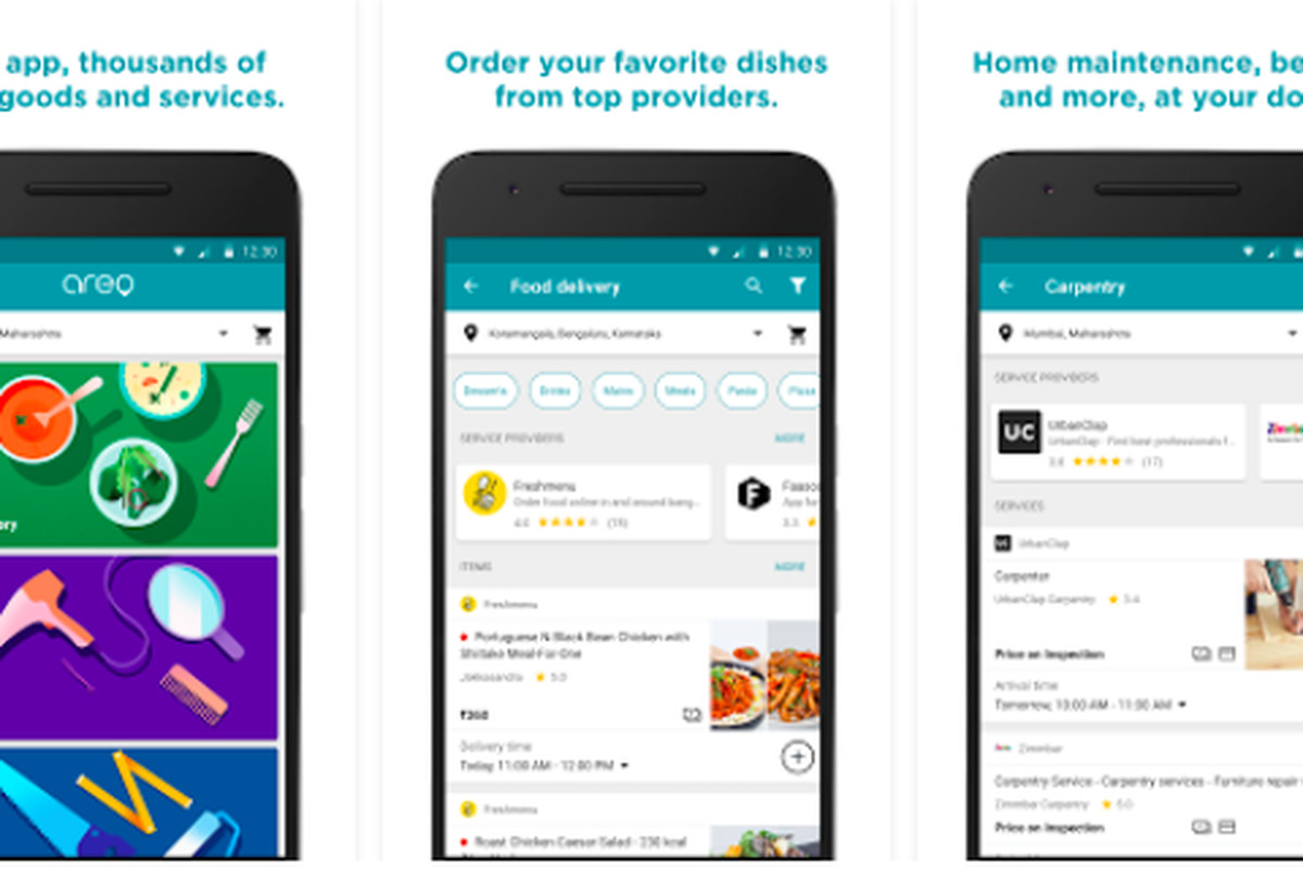 Google releases food-delivery and home services app in India