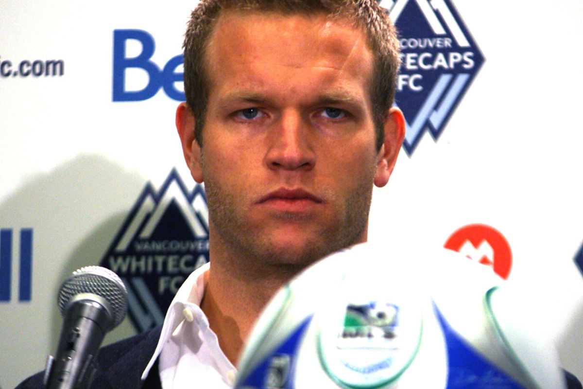 Jay DeMerit is a serious choice to captain the Vancouver Whitecaps into Major League Soccer. (Benjamin Massey/Eighty Six Forever)