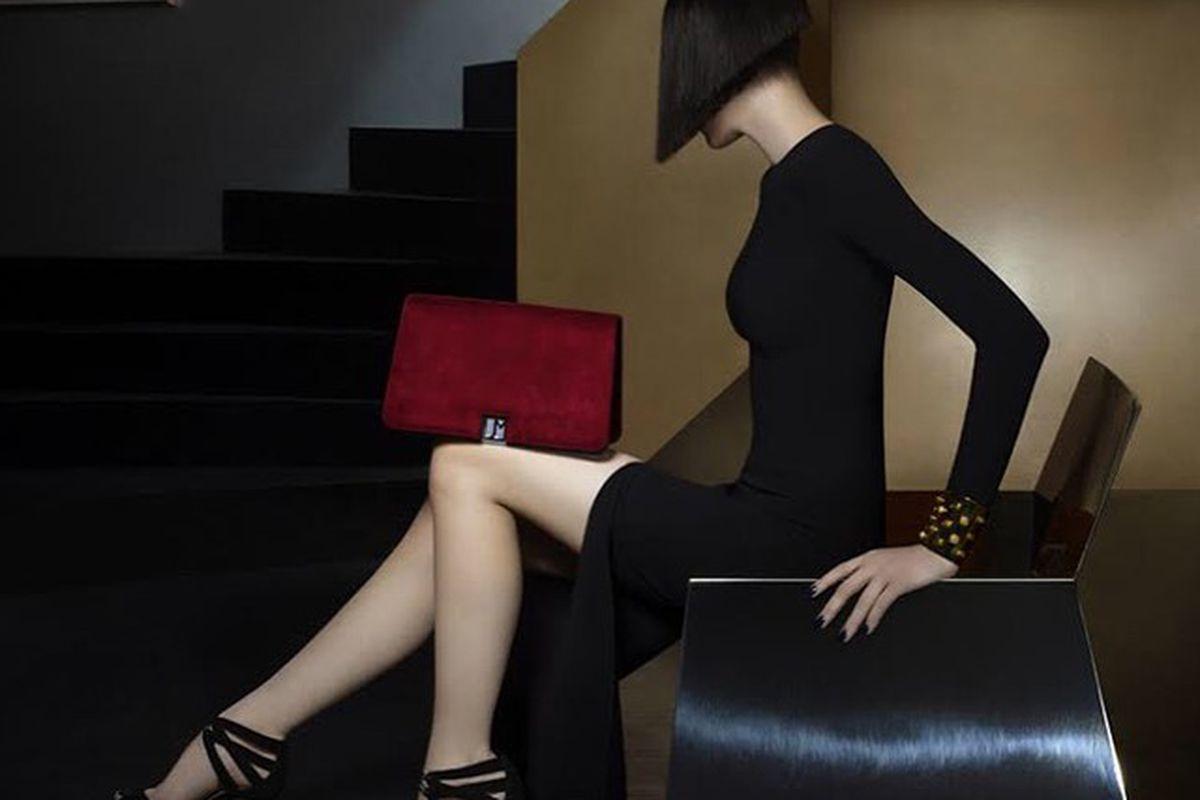 "See this bag and others walk the catwalk next week; photo via <a href=""http://www.jillmilan.com/"">Jill Milan</a>/Instagram"