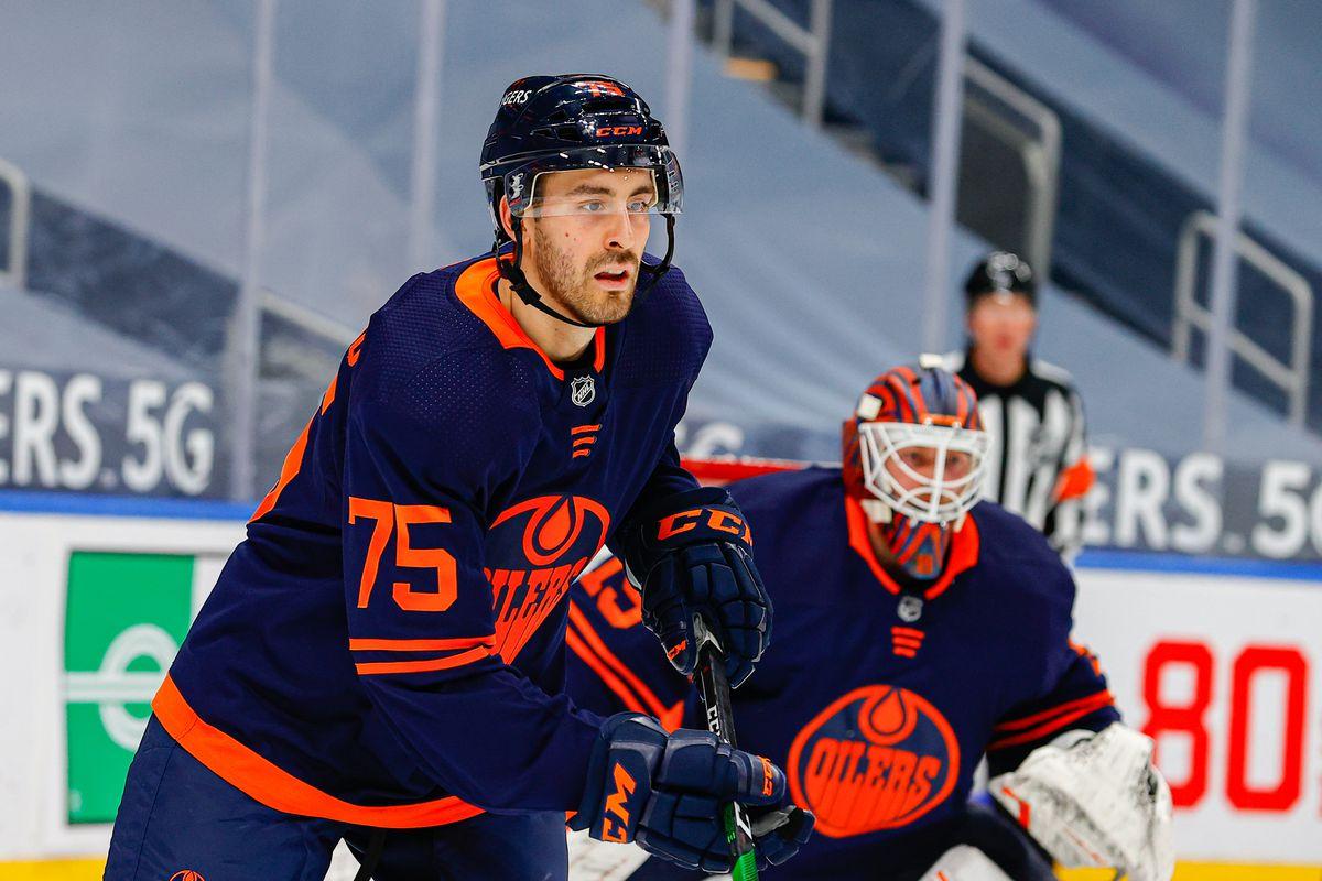 NHL: MAY 15 Canucks at Oilers