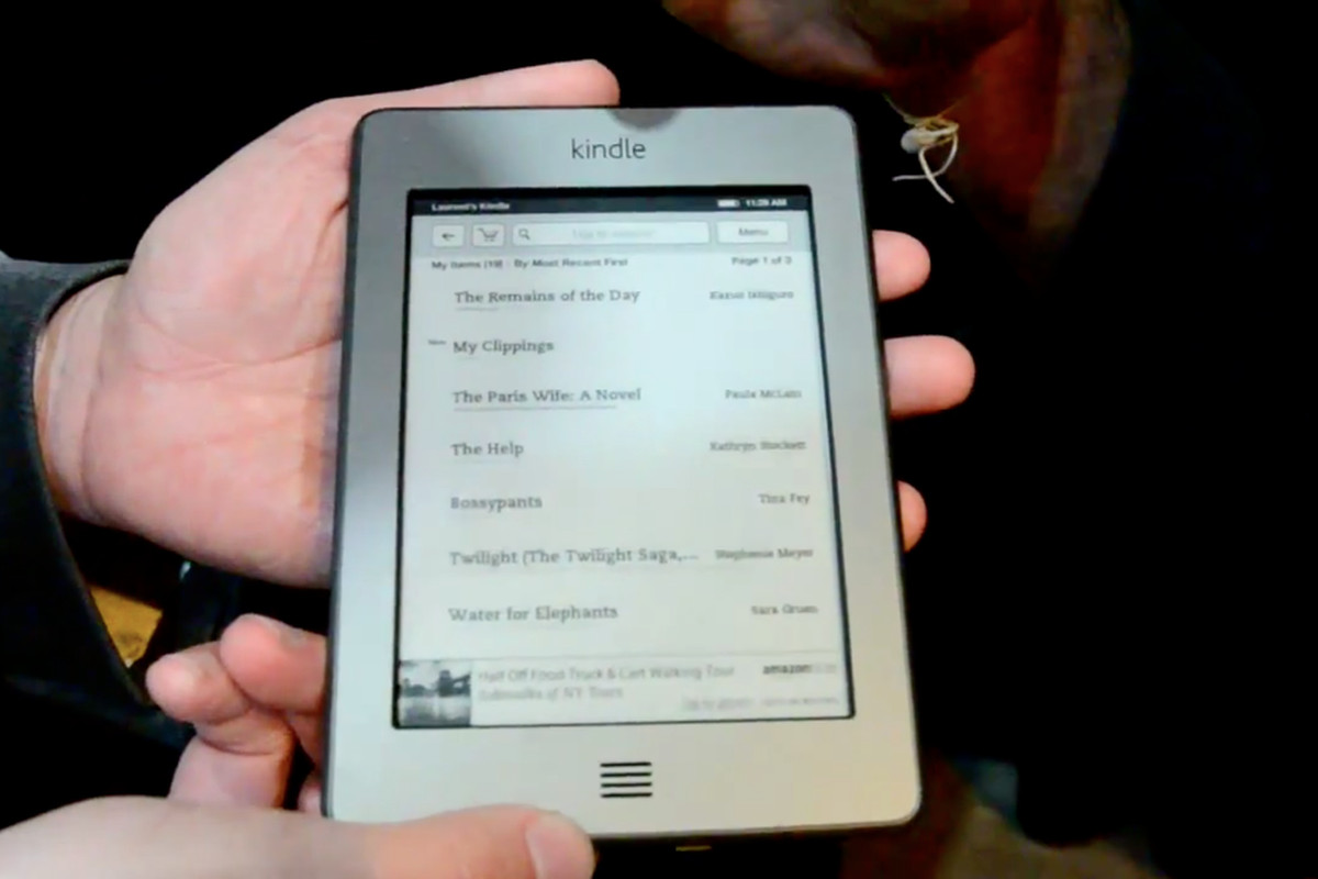 Amazon Kindle Touch shipping a week ahead of schedule, will