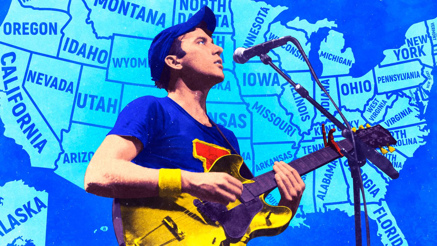 Sufjan Stevens and the Curious Case of the Missing 48 States