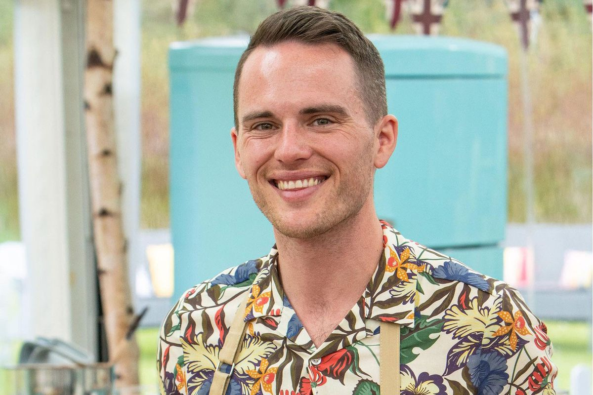 David, a contestant on Great British Bake Off 2019