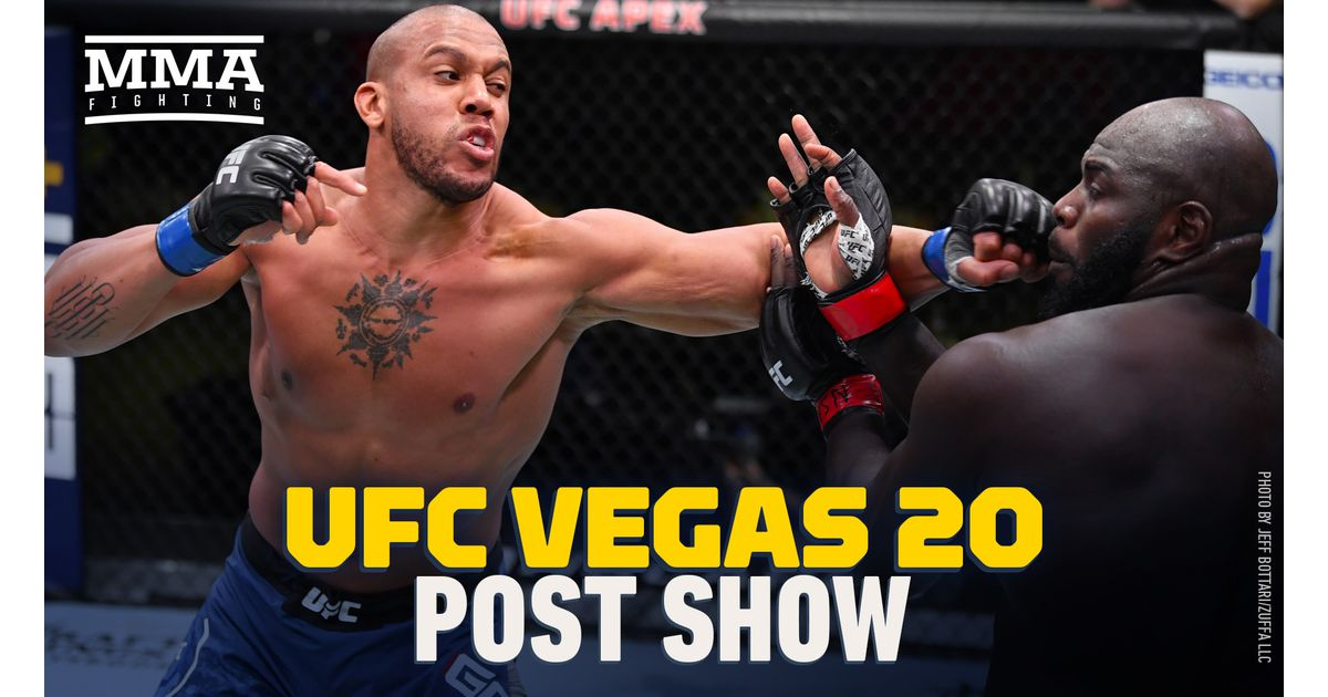 Video: UFC Vegas 20 post-fight show with Sarah Kaufman