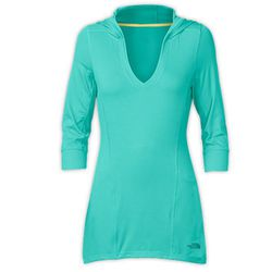 """<b>The North Face</b> Re-Juve-I-Nate Hoodie in Ion Blue, <a href=""""http://www.thenorthface.com/catalog/sc-gear/womens-activity-yoga/women-39-s-re-juve-i-nate-hoodie.html"""">$70</a>"""