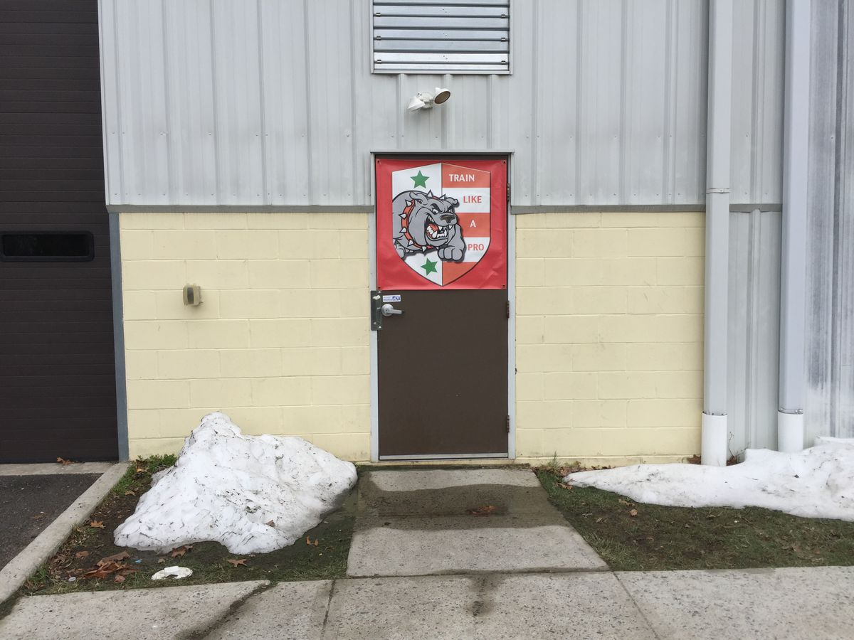 Outside of the Xolos Academy FC New Jersey training facility in Cliffwood, New Jersey.
