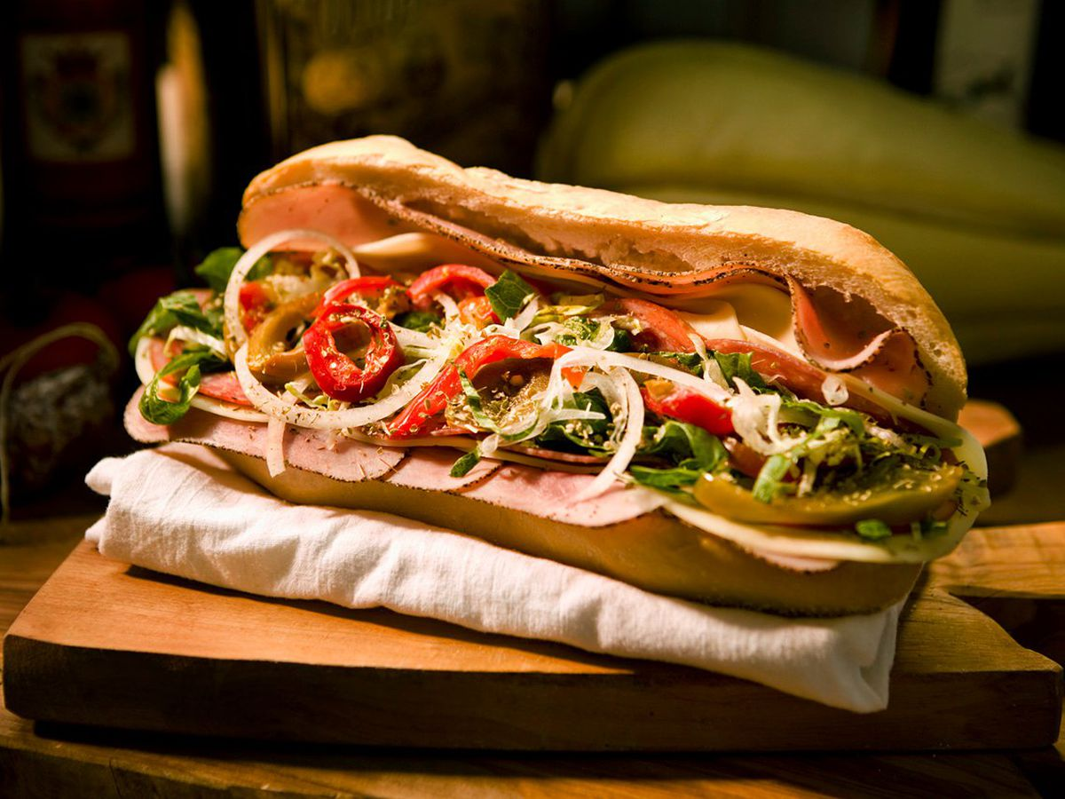 A Fully Dressed Hoagie From The Italian Facebook