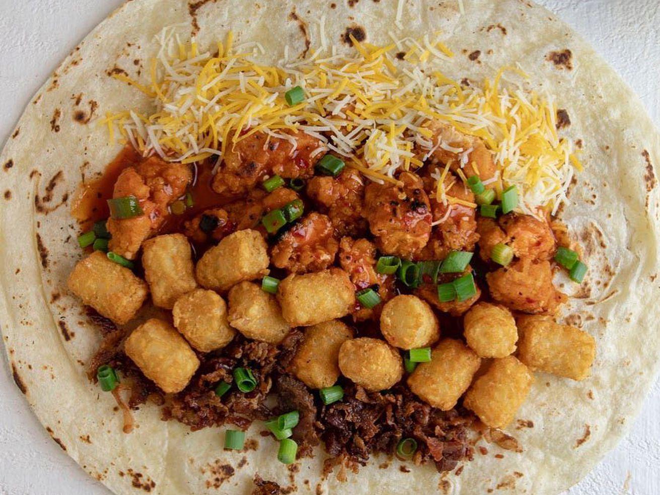 Nocturnal Eats' dracarys burrito