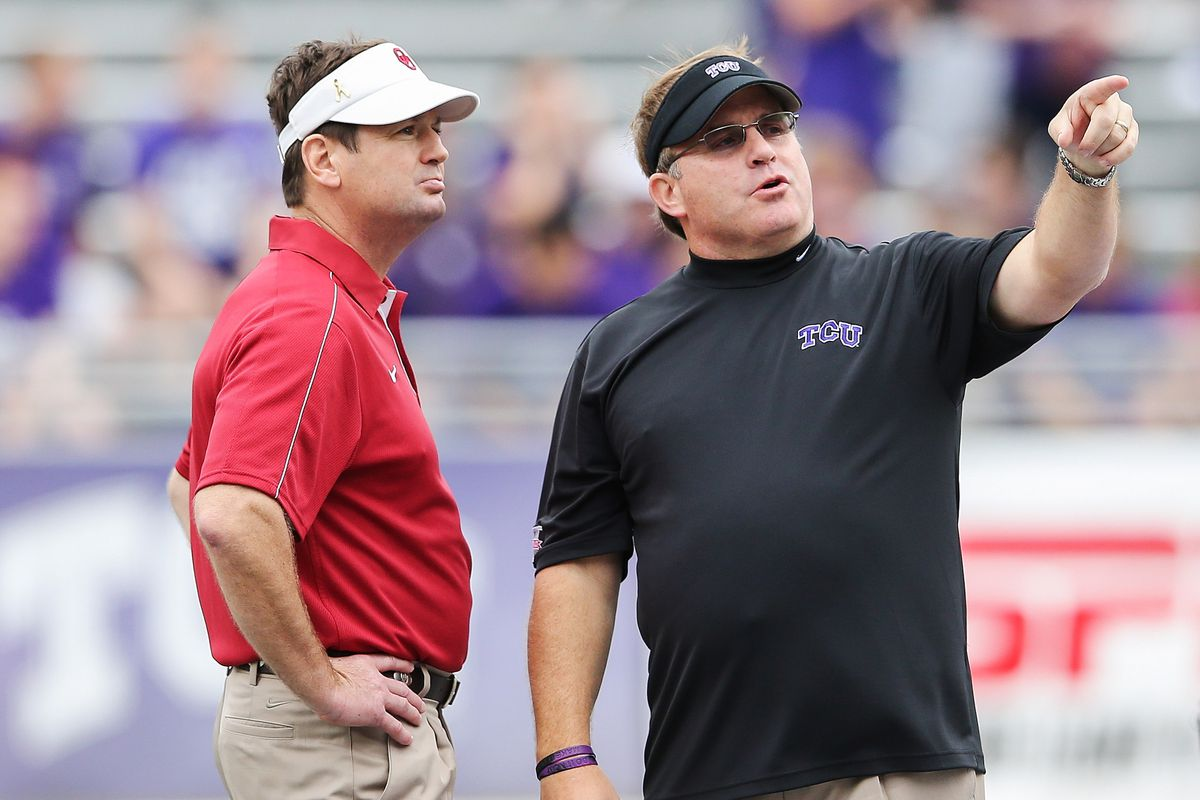 """""""You're right Gary, I would look good coaching there instead.""""- Bob Stoops."""