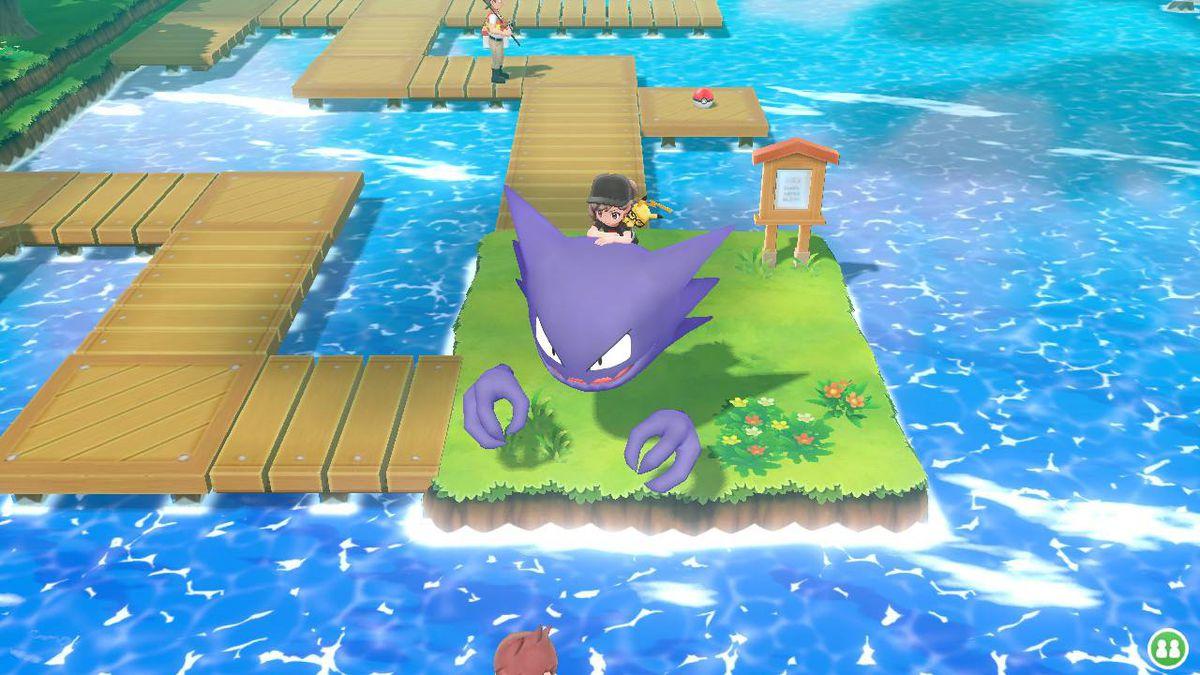 haunter in pokemon let's go