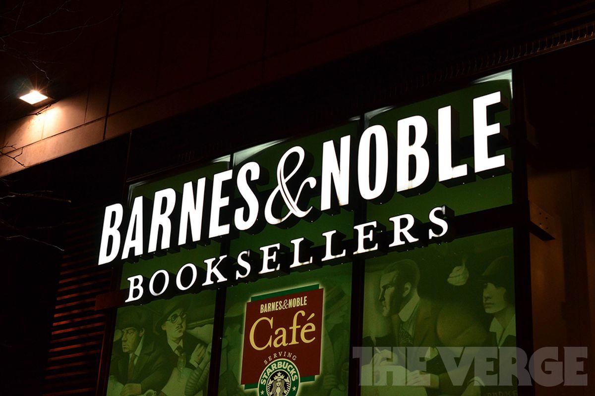 Barnes & Nobel store logo stock (1020)