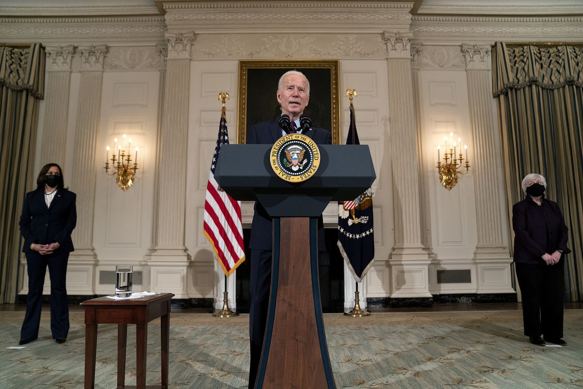 President Biden Delivers Remarks On The Economy And Need For American Rescue Plan