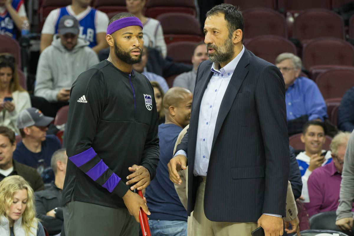 """Vlade Divac on trading DeMarcus Cousins """"I was relieved"""