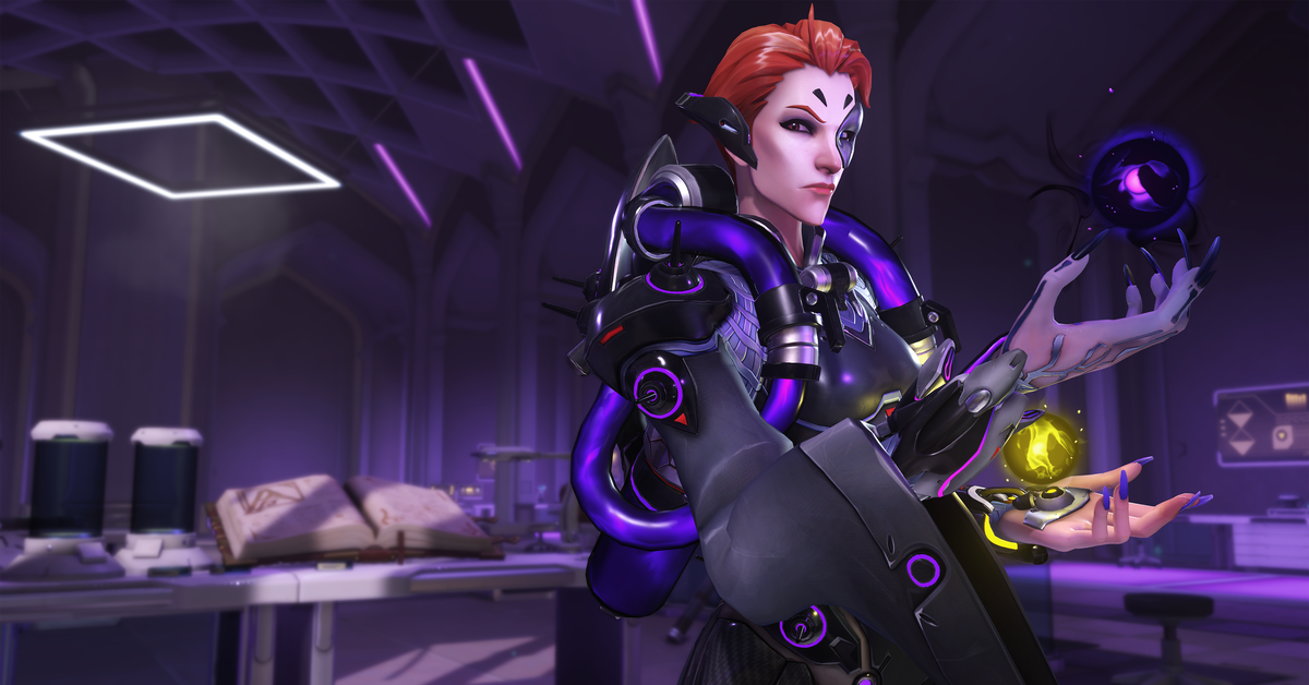 Moira's visual design is a total triumph for Overwatch