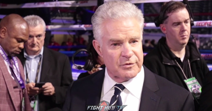 Jim Lampley 'overwhelmingly grateful' after final HBO boxing card