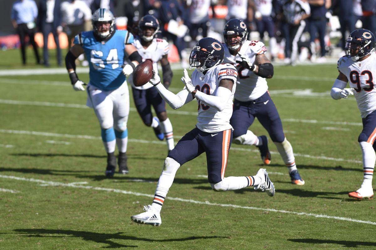NFL: Chicago Bears at Carolina Panthers
