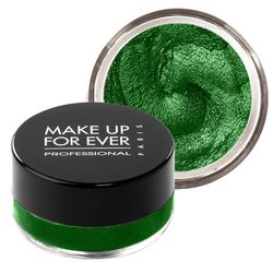 """Make Up For Ever Aqua Cream Eyeshadow in #22/Emerald Green, <a href=""""http://www.sephora.com/aqua-cream-P262109?skuId=1247196"""">$23</a>"""