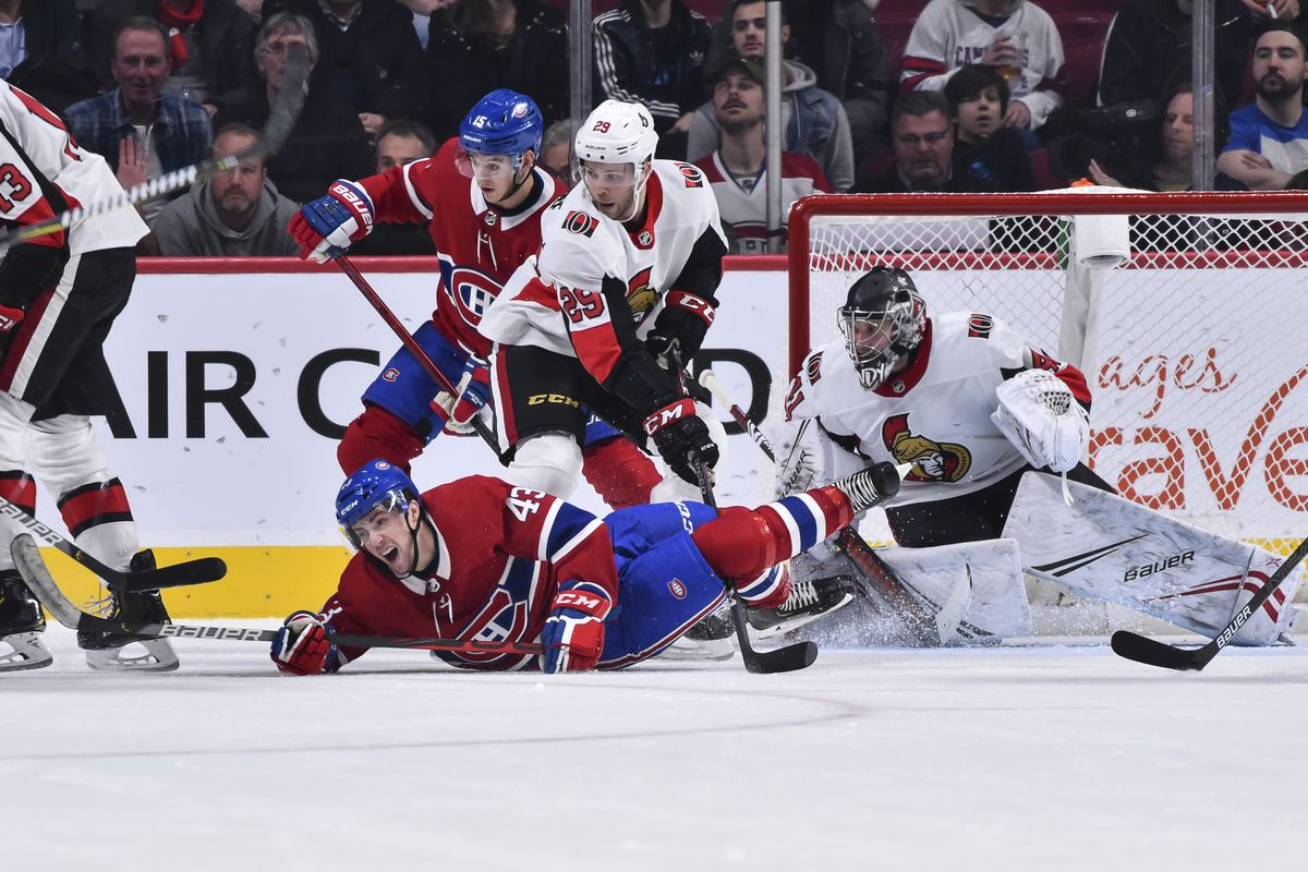Canadiens vs. Senators game recap: Dull Habs can't carve out a win