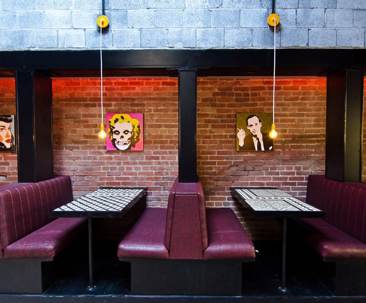 Here\'s a Look Inside Shaw\'s New Diner, Satellite Room - Eater DC