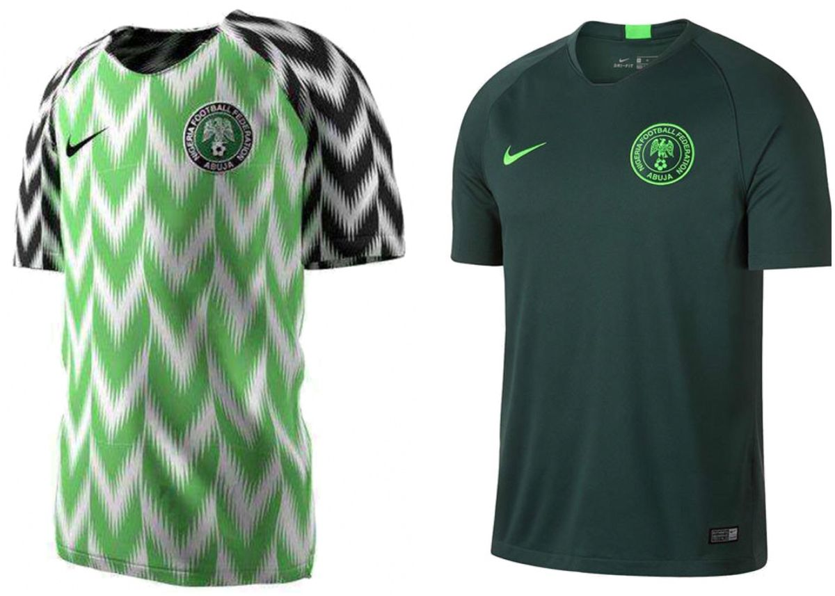 f3db14868ff Let's make this clear: Nigeria's home jersey, which is based off their 1994 World  Cup jersey, is one of the greatest soccer jerseys of all time.