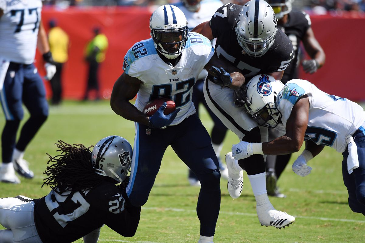 Titans Injury Report Delanie Walker is a Full Participant on