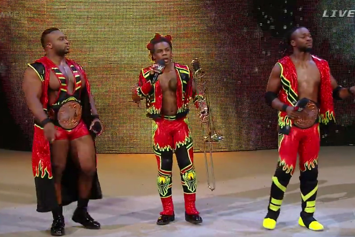 Toyota Pay Bill >> WWE Night of Champions 2015 results: The New Day lose to ...