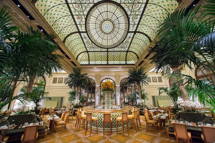 The Spruced Up Palm Court At The Plaza Hotel Has Less Gold