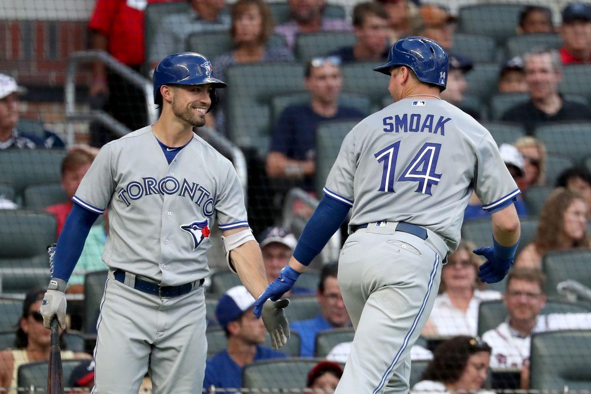 MLB: Toronto Blue Jays at Atlanta Braves