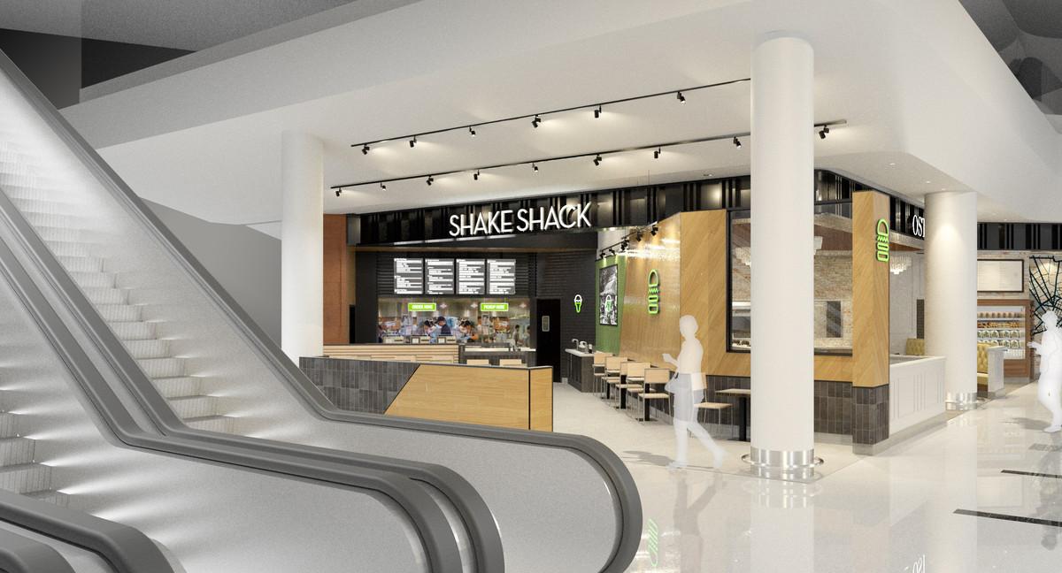 Rendering of the new Shake Shack