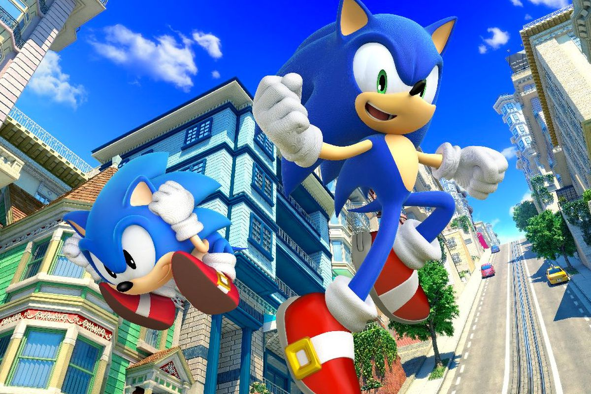 sonic the hedgehog celebrates his birthday with a new game
