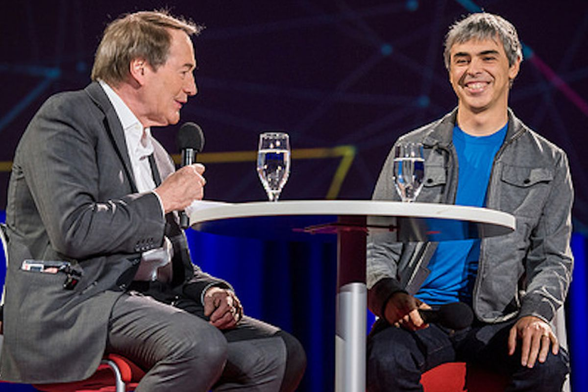 Google's Larry Page On Internet Privacy: Don't Throw The