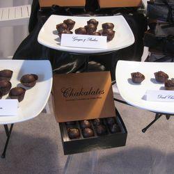 Mmm, dark chocolate Chakalates.