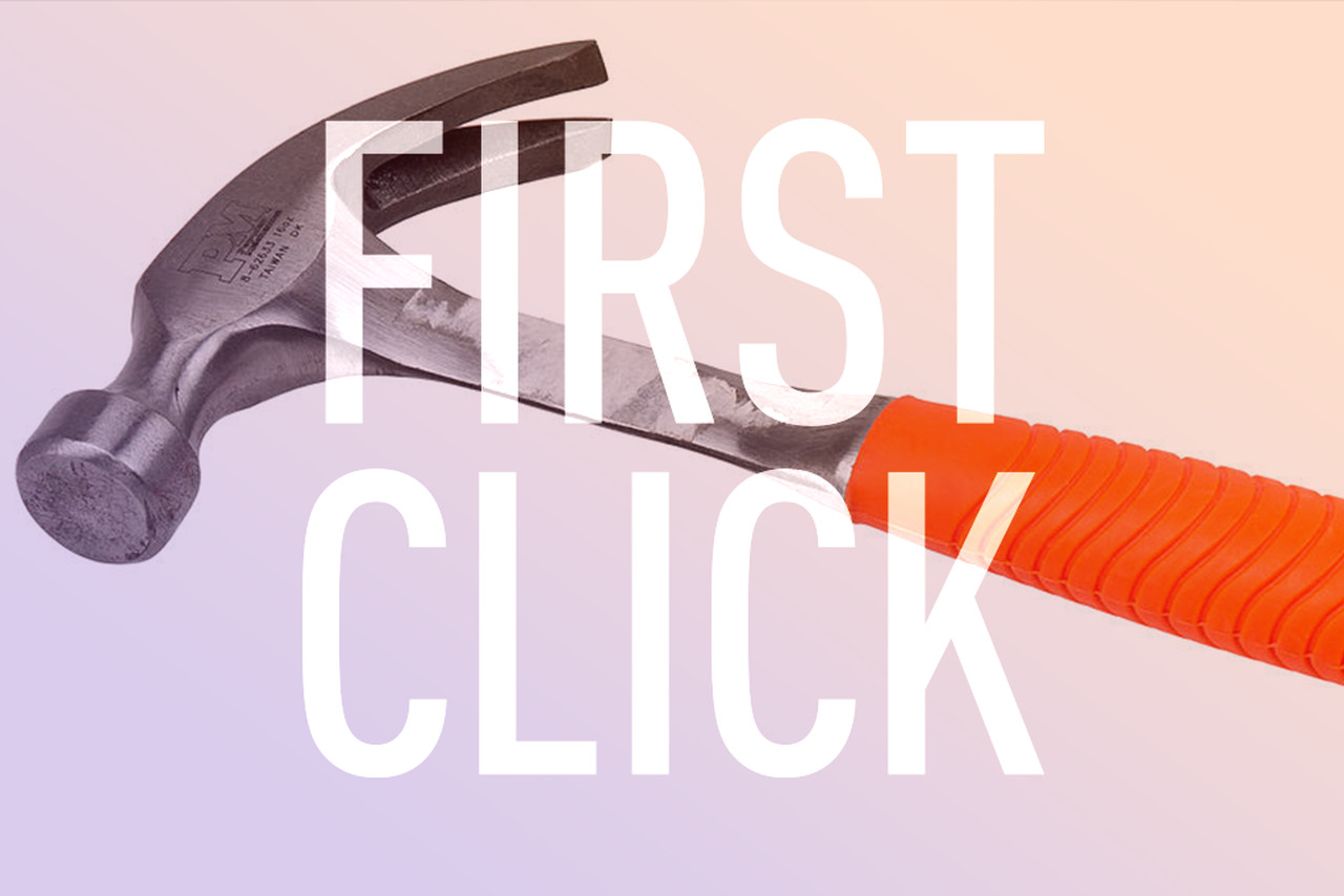 First Click: DIY happiness | The Verge