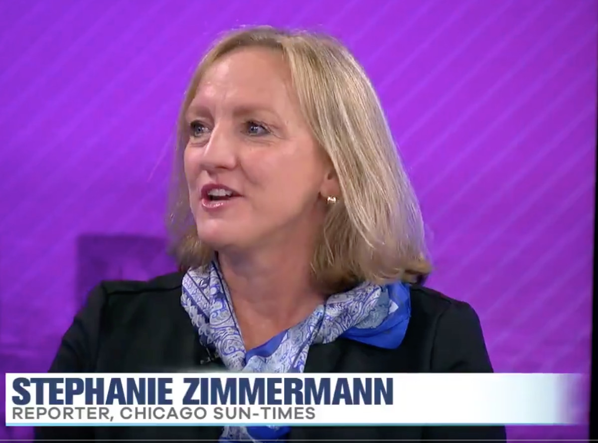 "Sun-Times consumer investigators reporter Stephanie Zimmermann talks about Tesla problems on WCIU's ""The Jam."""