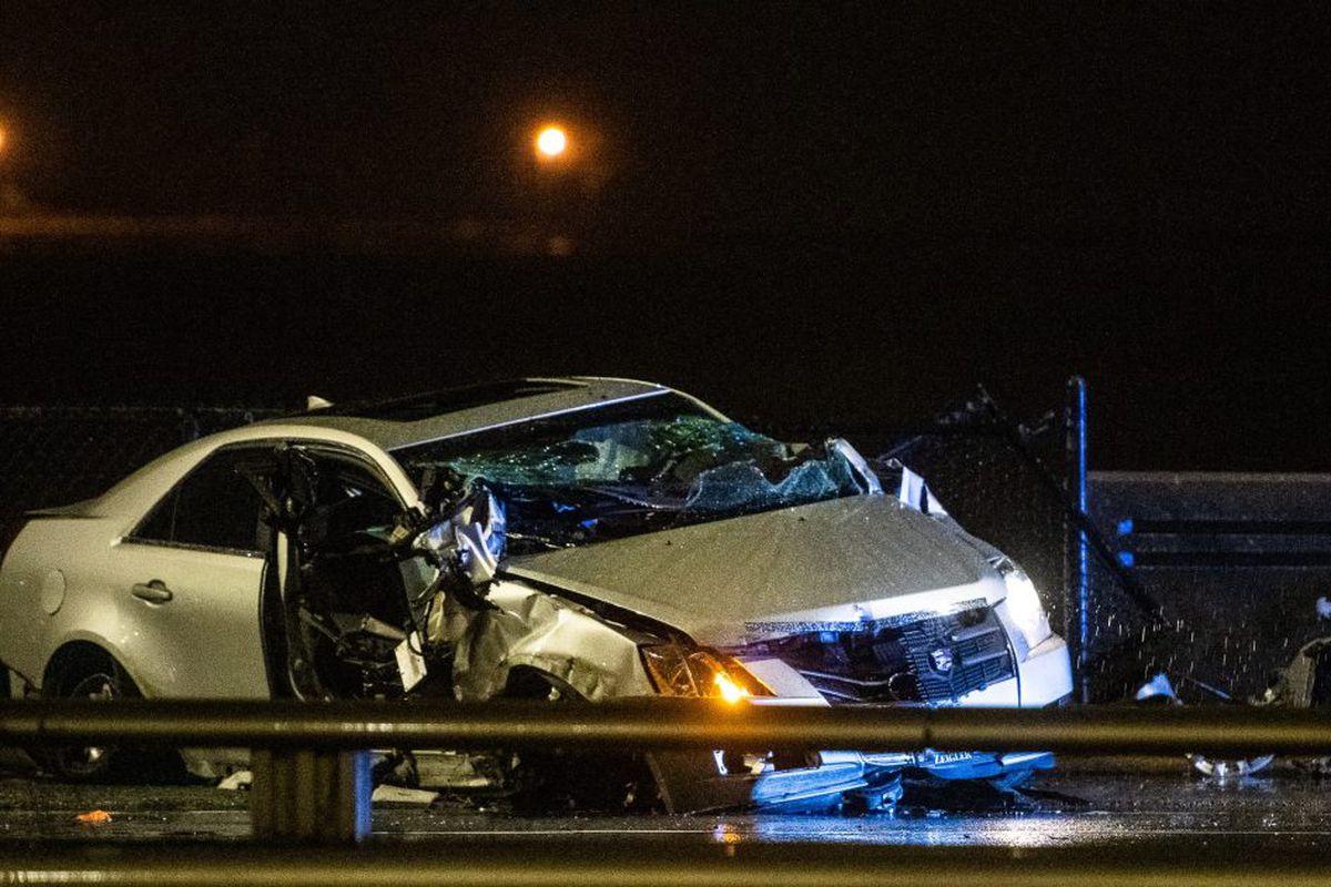 Man 34 Killed After Crashing Vehicle Into Guardrail On Lake Shore